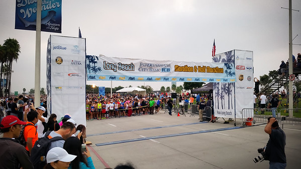 Wow...when I ran the full marathon, I did not think of it as a big event.  Certainly seemed small by comparison to the Los Angeles Marathon.  But THIS is not a small event.