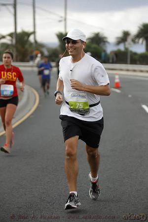 I look like I am enjoying my run