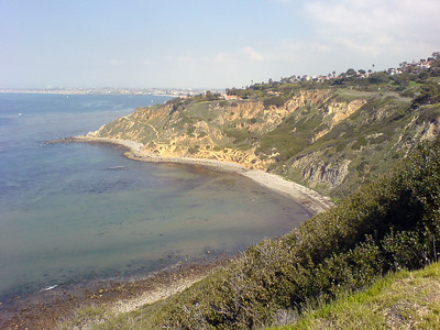 MARCH - Running along Palos Verdes Drive North