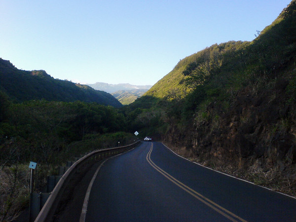 I push beyond the spot where I turned back last year and am treated to a view of the West Maui Mountains