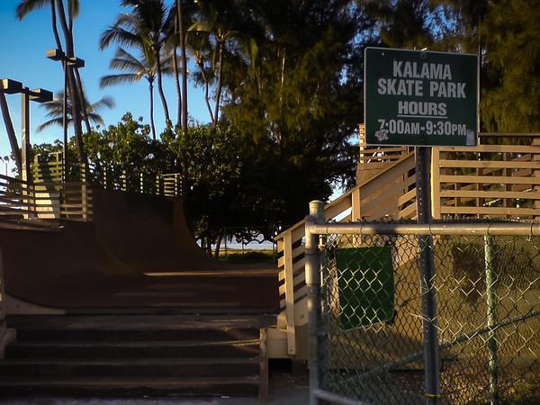 I take a detour through Kalama Beach Park