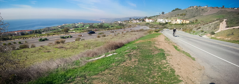 Panorama mode on Samsung Galaxy S3...not perfect