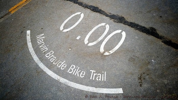 End of the bike path (Facebook)