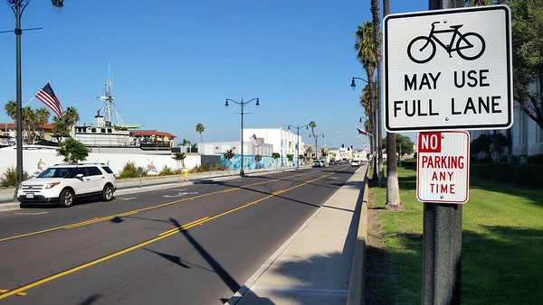 If bikes may also use the street, why remove lanes for a dedicated bike path? For us runners?