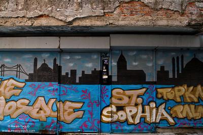 Istanbul in graffiti