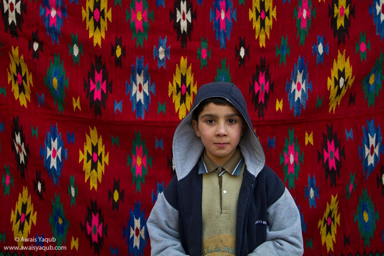 Kid somewhere inside Ankara castle!