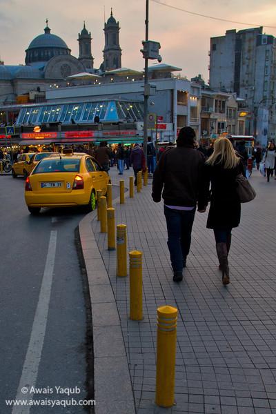 Entering Taksim