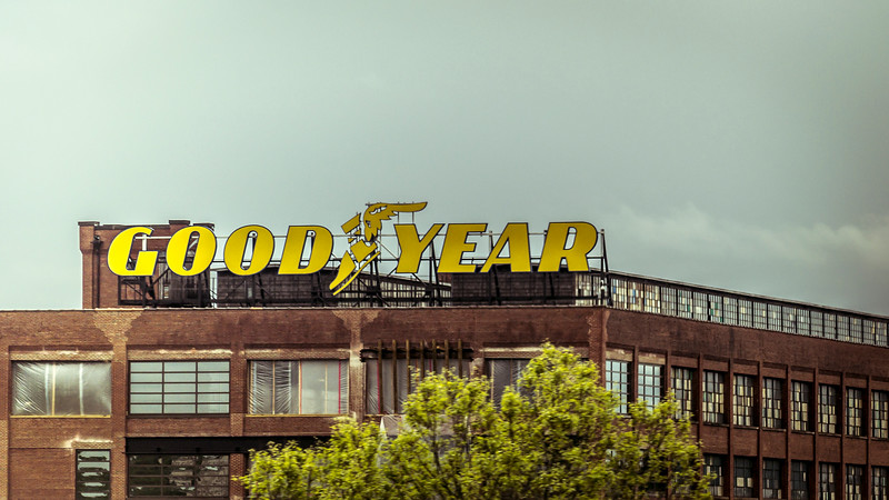 Old Goodyear Factory Akron