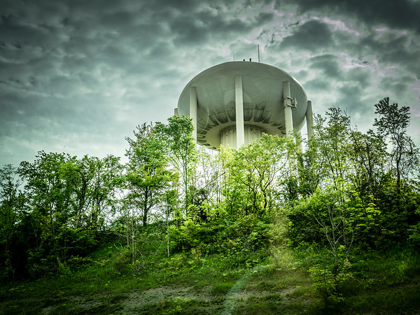 Water Tower or UFO
