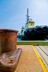 The Point Chebucto docked at Halifax Harbor