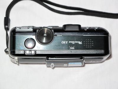 Canon S50 - Üstten
