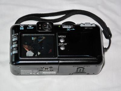Canon S50 - Arka