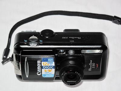 Canon S50 - açık
