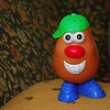 Mr. Potato Head, a willing test subject.