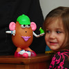Catherine and her creation, Mr/Mrs/Potato Head/Identity Crisis.