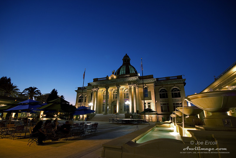 "<strong>Redwood City Courthouse</strong><br /> Read the <a href=""http://anvilimage.com/2009/08/13/coming-back-for-the-sunset/"" />Anvil Image blog entry</a> for this image."