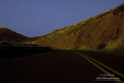 Raining Stars - Read more about this 5 minute exposure here!