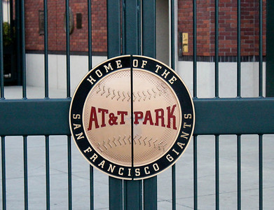 AT&T park gate