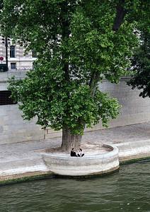 Right bank, River Seine, Paris