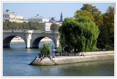 Vert Galant, Ile de la Cite, Paris
