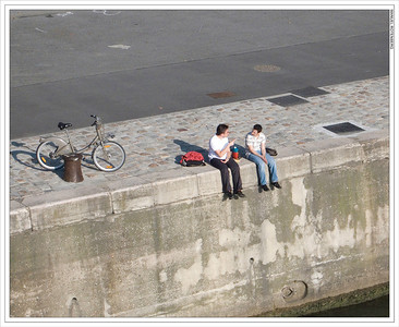 Left Bank of the Seine, Paris