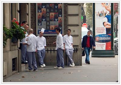 Recess at Cooking School, Paris
