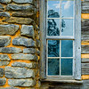 """Log Cabin Chimney and Window"""