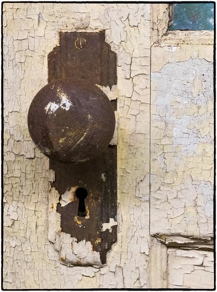 """""""Antique Doorknob and Lock"""""""