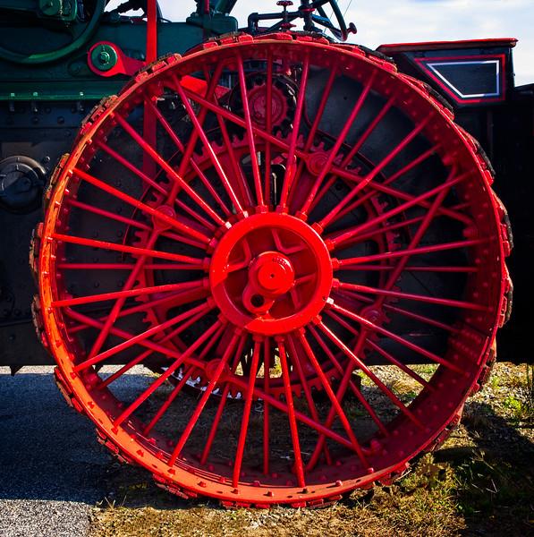 """""""Steam Tractor Wheel"""""""