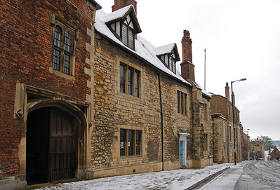 More historic buildings on Minster Yard, looking towards Pottergate