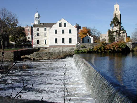 The Old Slater Mill in Pawtucket Rhode Island