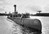 USS Pickerell  (SS-524)<br /> <br /> Date: May 10 1950<br /> Location: Pearl Harbor<br /> Source: William Clarke - National Archives