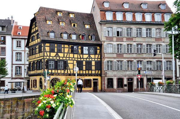 A street in Strasbourg