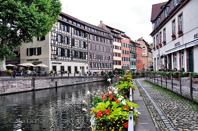 Strasbourg, France.  I love this town, especially the old town.