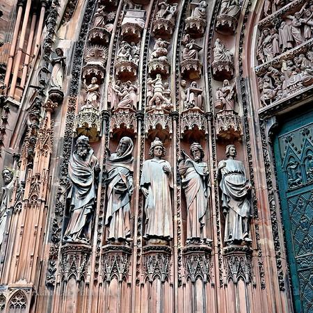 Front entrance, Strasbourg Cathedral