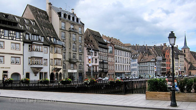 A view in Strasbourg, France
