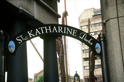 Entrance, St.Katherine's Dock, London