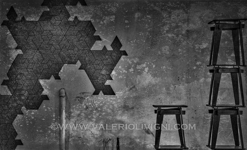 Felt tiles and stools
