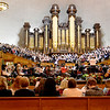 Mormon Tabernackle Choir in Salt Lake City Utah