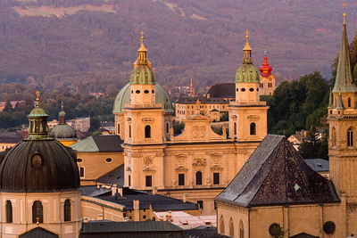 Cathedrals and churches, Salzburg, Austria