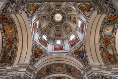 St. Peter's roof detail, Salzburg, Austria