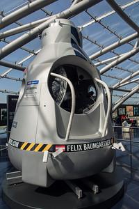 Felix Baumgartner's pod, Salzburg, Austria