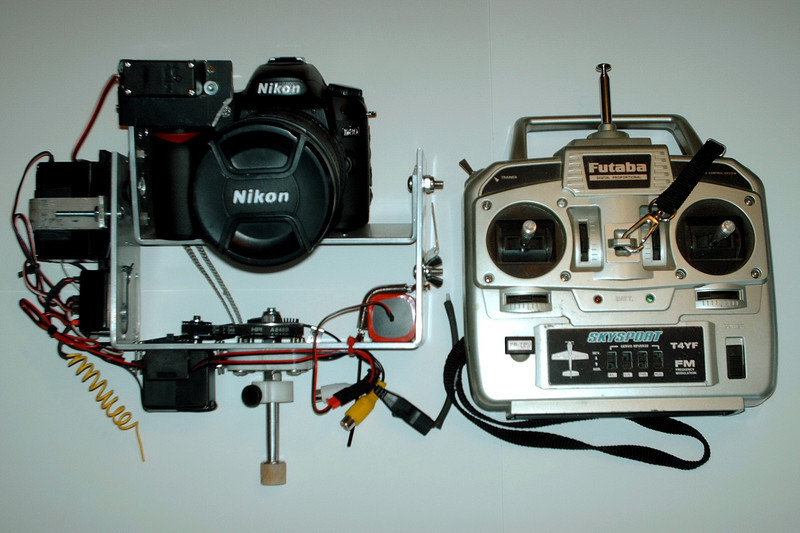 Sitting On Top Of The 50' Mast Is A Radio Controlled High Resolution Nikon Digital Camera