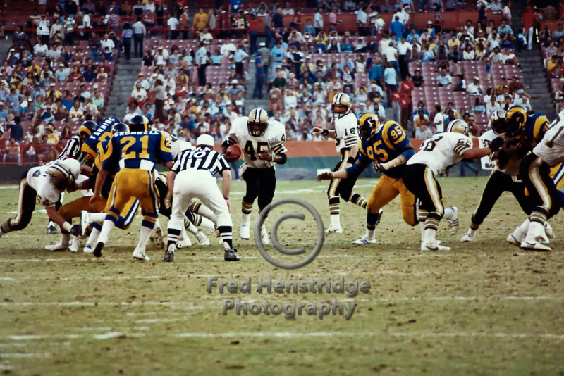 Los Angeles Rams vs New Orleans Saints, Anaheim, California