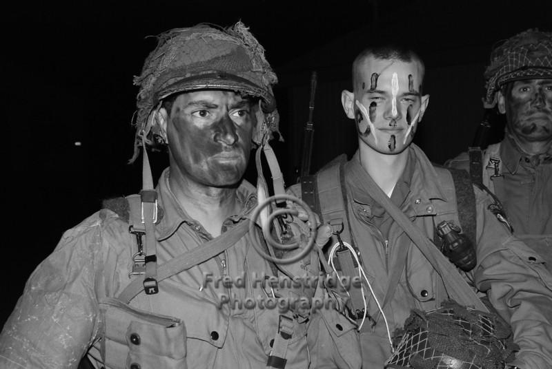 Military Reenactors, Camp Roberts, California