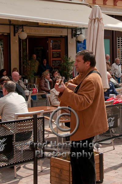 Guitar player, Malaga, Spain