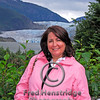 Gwen at the Mendenhall Glacier-Environmental Portrait