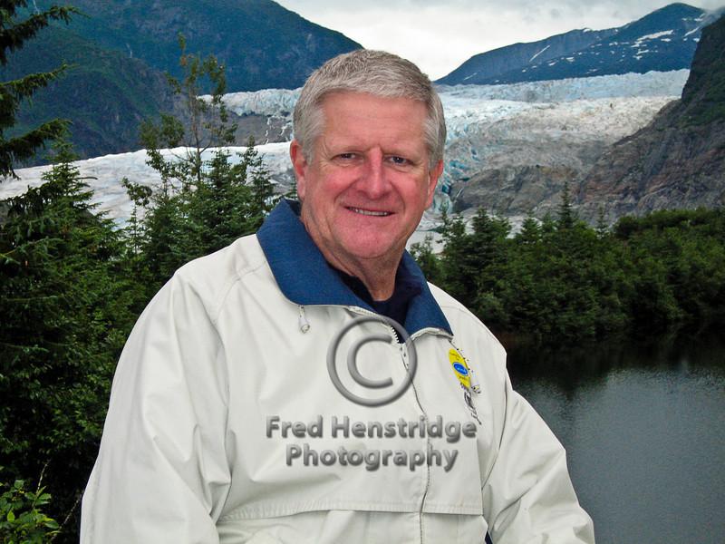 Bob at the Mendenhall Glacier-Environmental Portrait