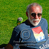 Man with the parrot, Victoria, BC