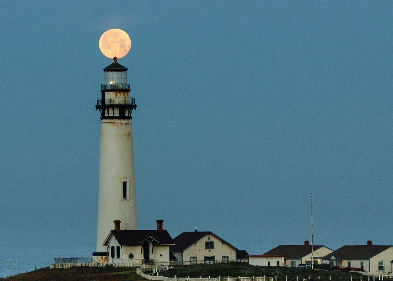 Morning Moonset